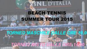 BEACH TENNIS 24 maggio