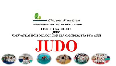 JUDO LEZIONI GRATUITE 4/16 ANNI
